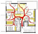 entwurfsplanung f r eine penthousewohnung. Black Bedroom Furniture Sets. Home Design Ideas